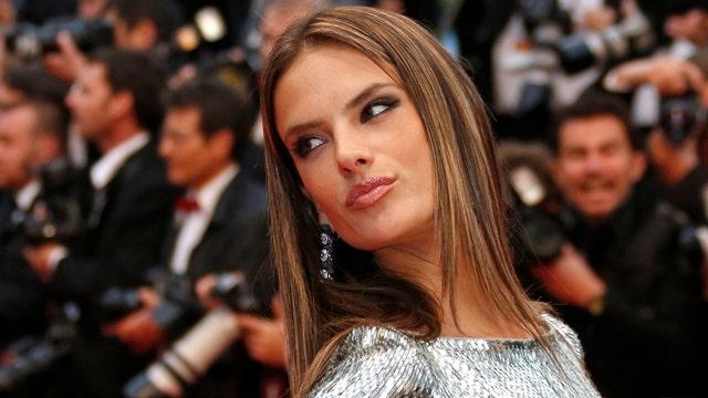 Alessandra Ambrosio preps for the holidays
