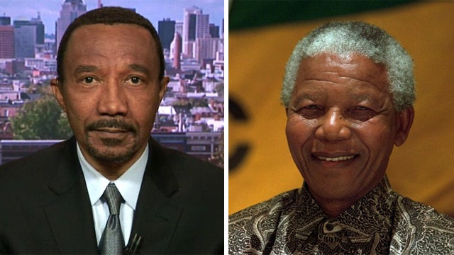 Kweisi Mfume's personal connection to Nelson Mandela