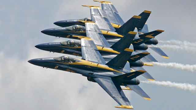 Blue Angels collect toys for Sandy victims