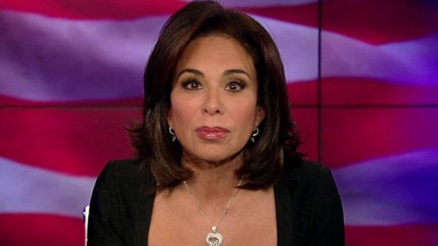 Judge Jeanine: Post-racial president keeps dividing America