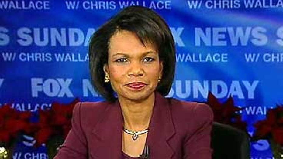 Condoleezza Rice on 'FNS'