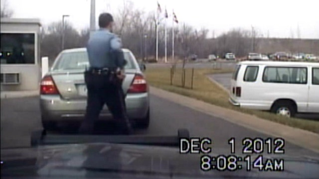 Raw Video: Police respond to Arrowhead before shooting
