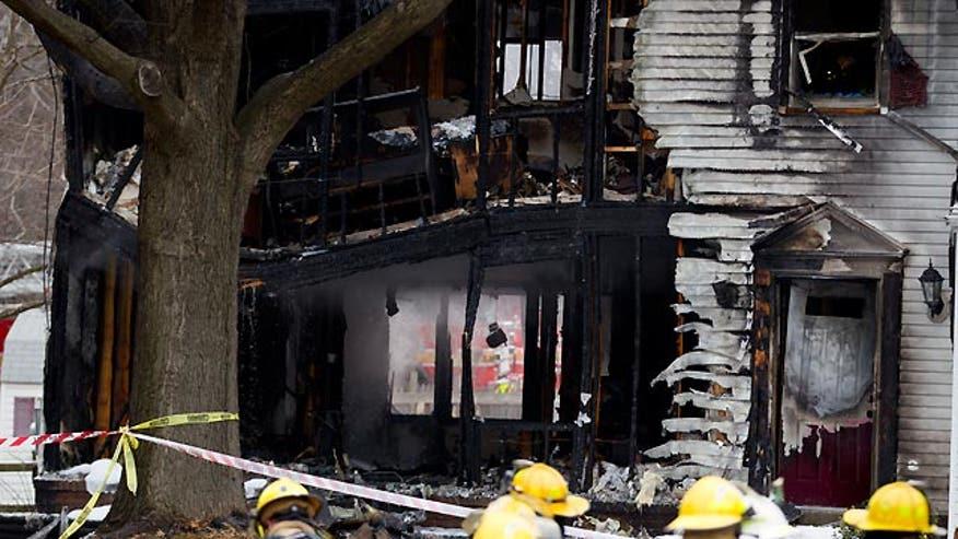 Horrific crash in Washington, D.C. suburb