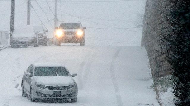 Winter storm threatens Northeast commutes