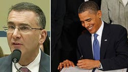 "Tuesday, Jonathan Gruber, the MIT economist caught repeatedly on video calling the American public ""stupid"" and claiming deception was essential to pass ObamaCare was dragged before the House Oversight Committee for a grilling."