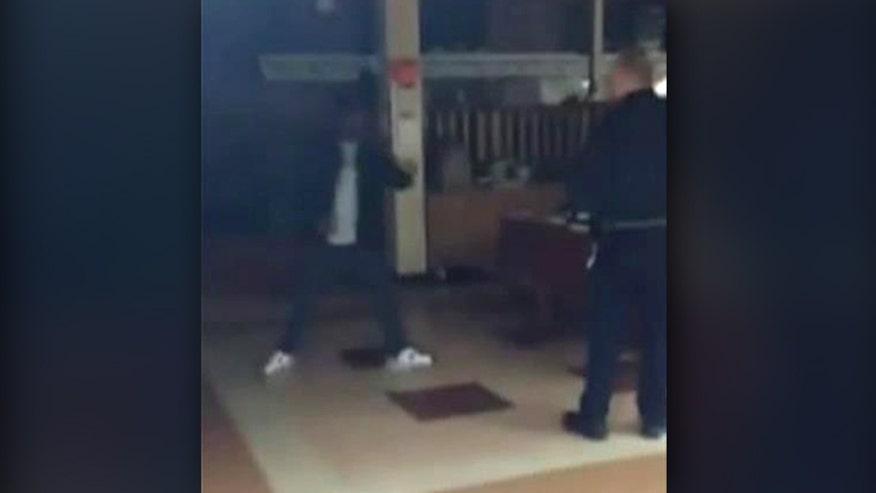 Police gun down knife-wielding suspect