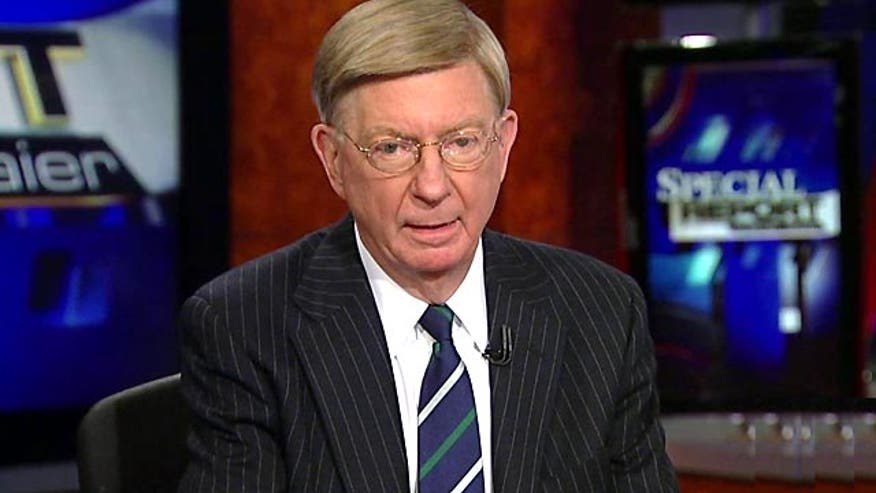 "Syndicated columnist George Will told viewers Tuesday that the enhanced interrogation techniques detailed in a report issued by the Senate Intelligence committee were ""not worthy"" of American society."