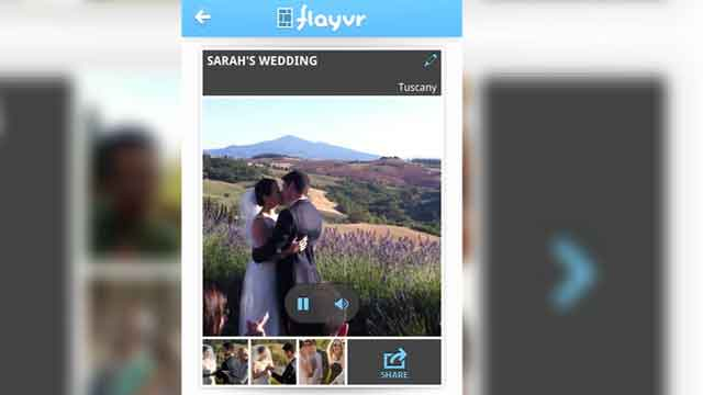 Turn your iOS camera roll into an interactive experience