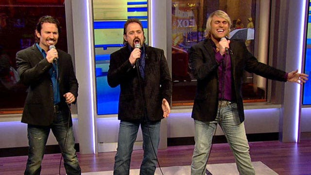 Texas Tenors perform live on 'Fox & Friends'