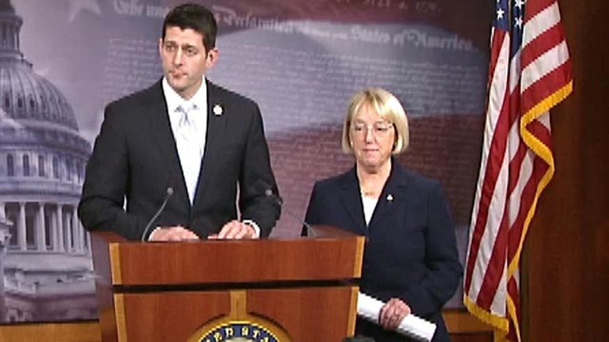 Rep. Ryan, Sen. Murray speak out