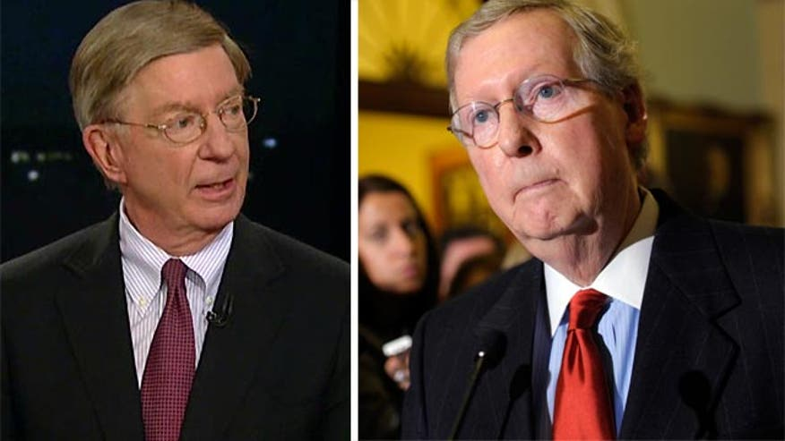 The House might give a green light to the agreement, but the Senate Minority Leader vote no