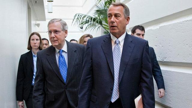 House leaders unveil budget bill, race to avert partial shutdown