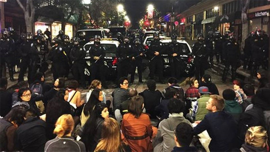 Protests over police killings cause traffic tie-ups, safety concerns