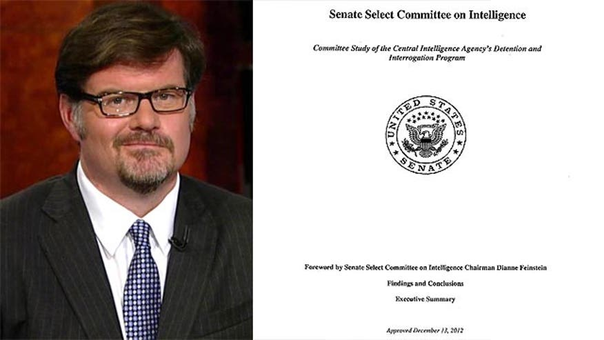 Goldberg calls the Senate Intelligence Committee toture report a shameful hatchet job