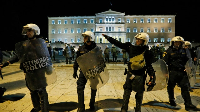 The check is not in the mail for Greece