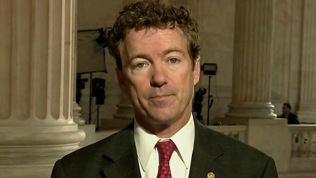 Sen. Rand Paul: Let Dems raise taxes, dig own grave