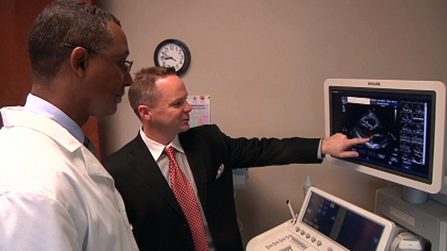 Dr. Kevin Campbell teamed up with Dr. Dawan Gunter to look for potential signs of cardiovascular disease in women