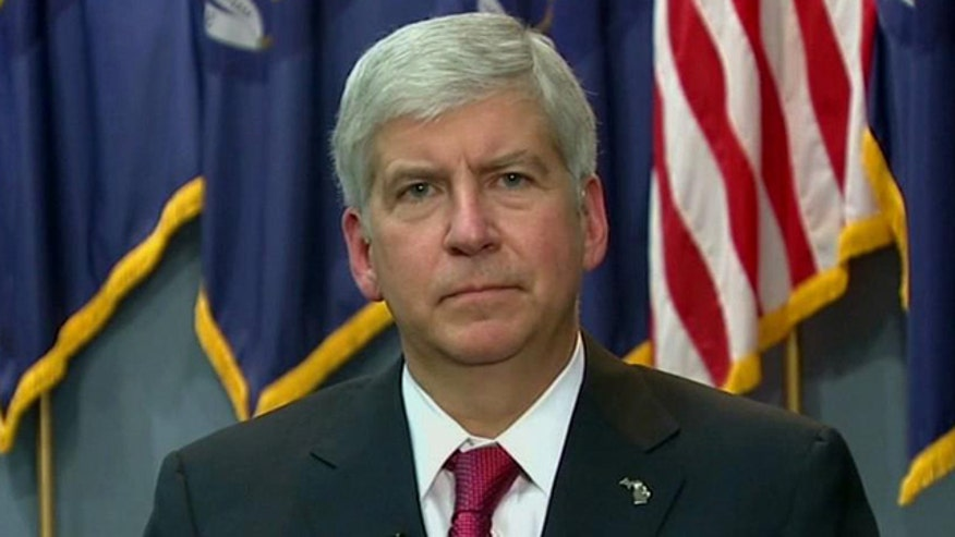 Michigan governor talks to O'Reilly about state's right-to-work vote