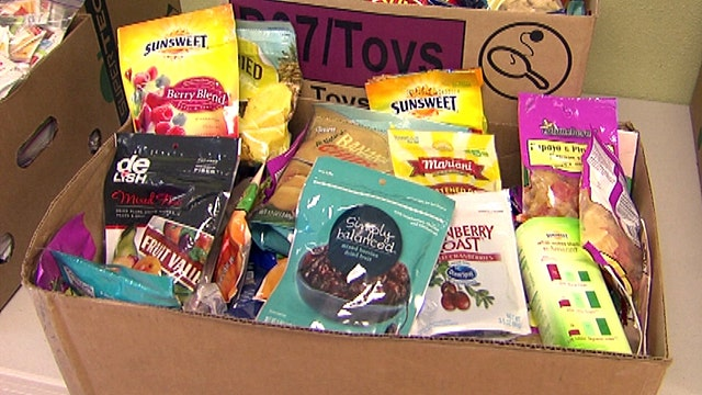 Soldier care packages sealed with love, goodies