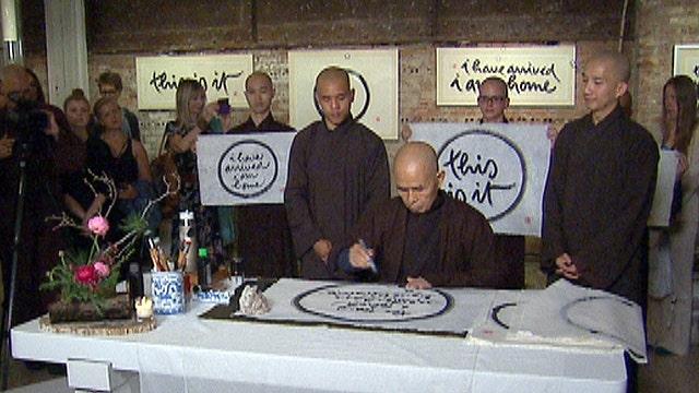 Calligraphic meditation: the mindful art