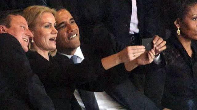 Greta: Really, Mr. President? A selfie at a memorial?