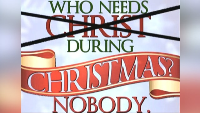 Atheist billboard proclaims nobody needs Christ at Christmas