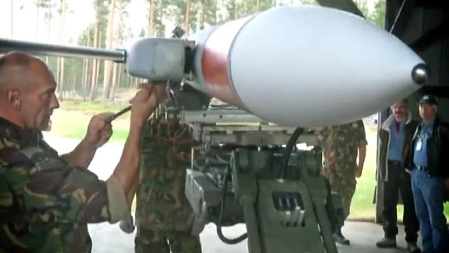 Allison Barrie on series of missile firing tests taking place in Sweden