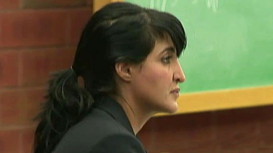 Key recording heard in trial of mother accused of hiring handyman to kill ex-husband