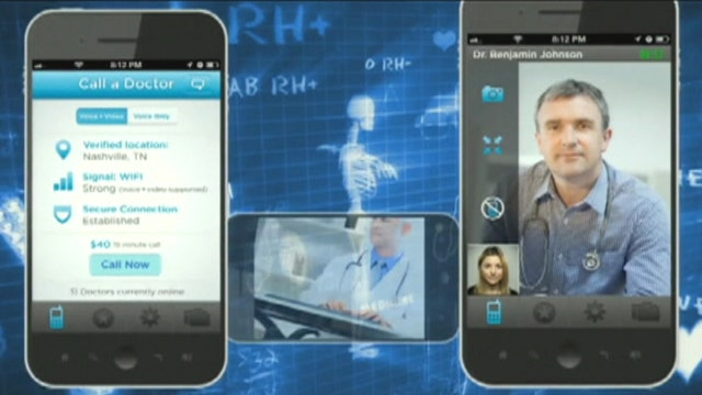 Need a doctor on demand? There's an app for that
