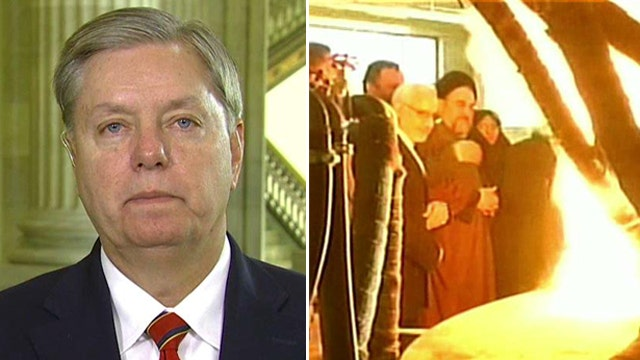 Graham threatens to block key bill over Iran sanctions vote