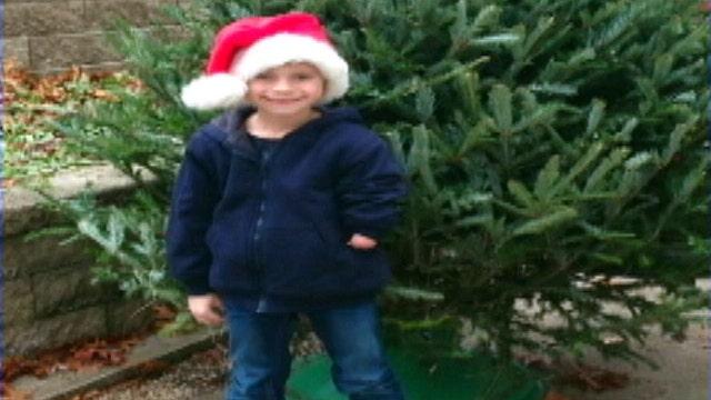 Boy wants arm for Christmas