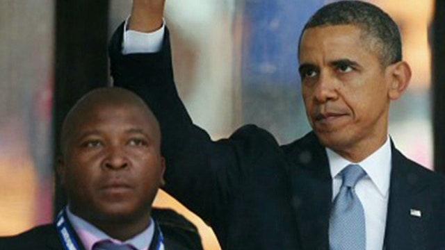 'Fake' sign language interpreter at Mandela memorial