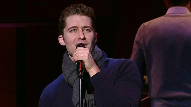 Matthew Morrison lends voice to holiday classics