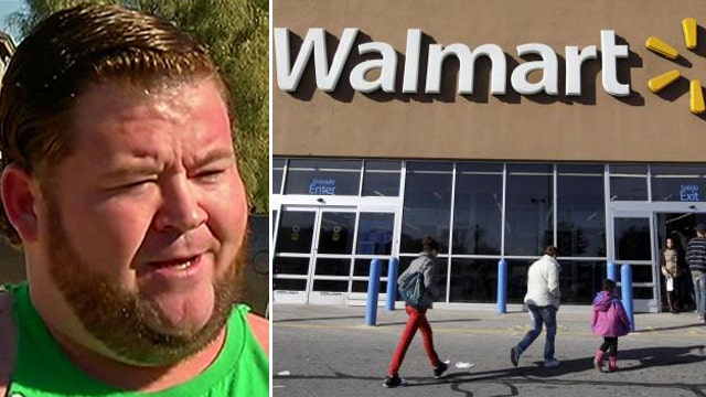 Man banned from all Walmart stores for life