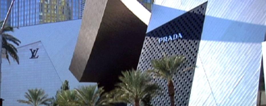 Junior Reporter Matt Finn shows us how folks in Vegas prefer to spend their money in shops versus casinos these days.