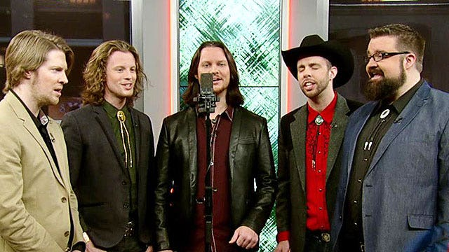a capella group home free rings in the holiday season on air videos fox news. Black Bedroom Furniture Sets. Home Design Ideas
