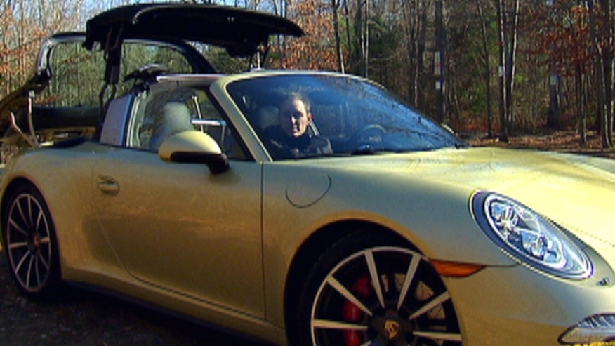 Fox Car Report's Gary Gastelu finds out just how cool the 2015 Porsche 911 Targa 4S can be.