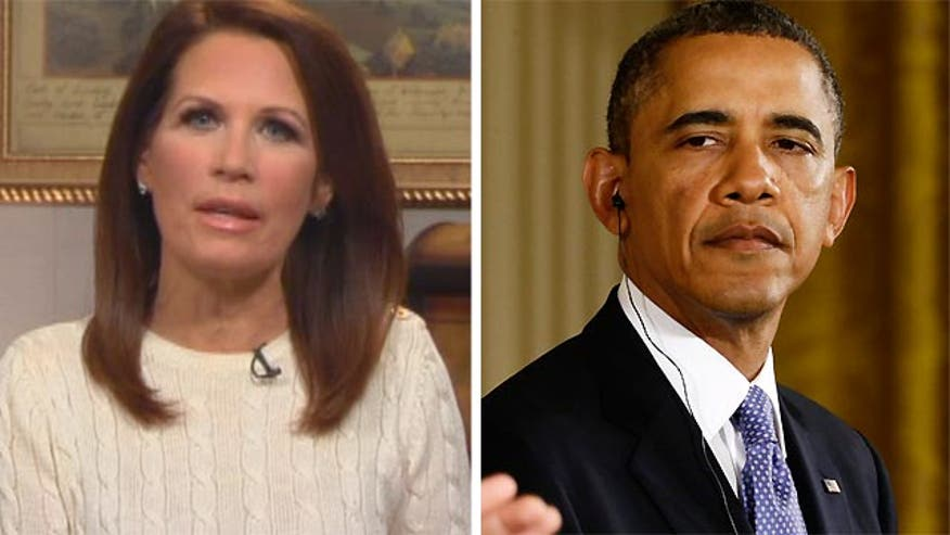 Congresswoman Michele Bachmann on her discussion with the President about dealing with Iran