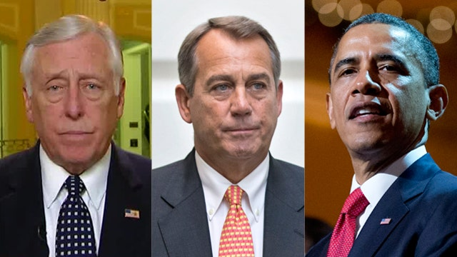 Rep. Hoyer: President, Boehner want to get a deal done