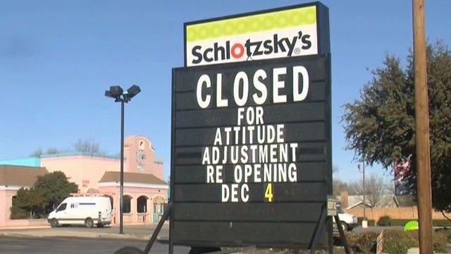 Restaurant closes for 'attitude adjustment'