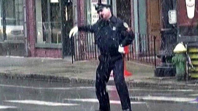 Rhode Island's 'Dancing Cop' busts a move for Christmas