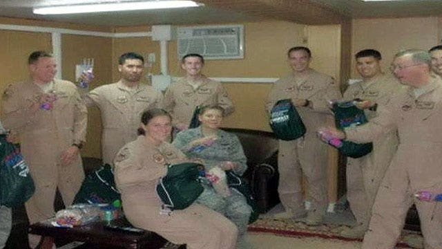 Operation Troop Aid sends packages to troops