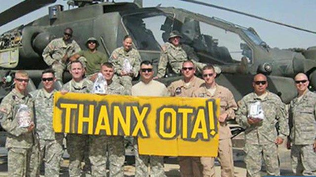 Operation Troop Aid sends gifts overseas troops