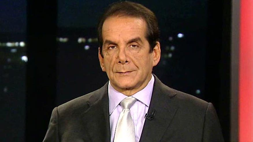 "Krauthammer: On Obamacare, ""This isn't a wrinkle, this is a train wreck"""