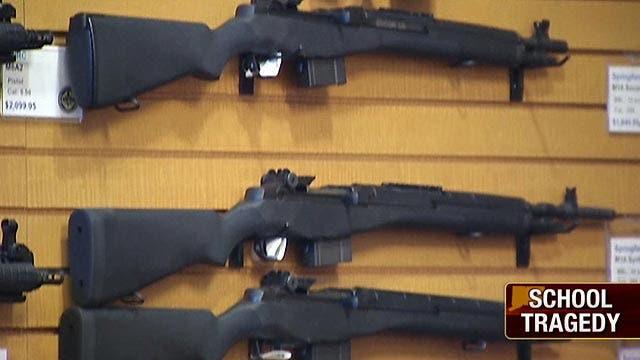 CT school shooting brings focus on gun violence