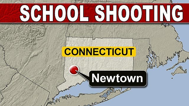 Timeline of events in Connecticut school shooting