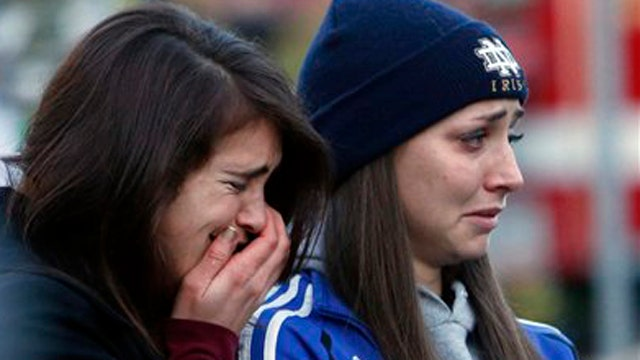Parent of Sandy Hook student reacts to tragedy