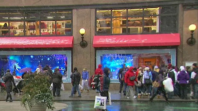 Will winter weather chill holiday shopping?