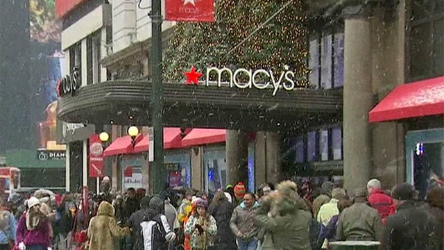 Did the winter storm hurt holiday shopping?