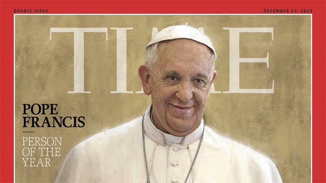 Why Time picked the pope
